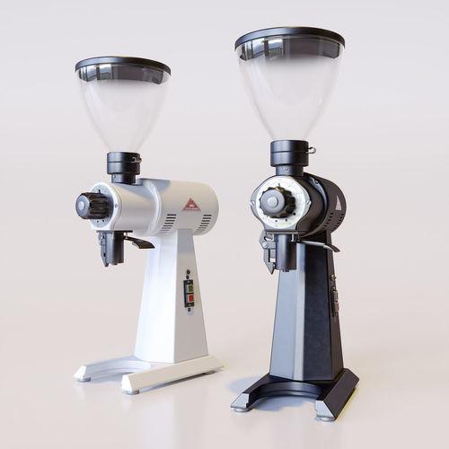 coffee grinder ek43 3d model obj mtl 3ds fbx c4d stl 1