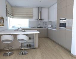 3d model kitchen 2