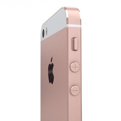 Apple iPhone SE Rose Gold | 3D model