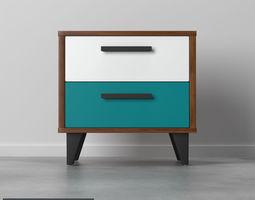 3D model bedside Bedside table