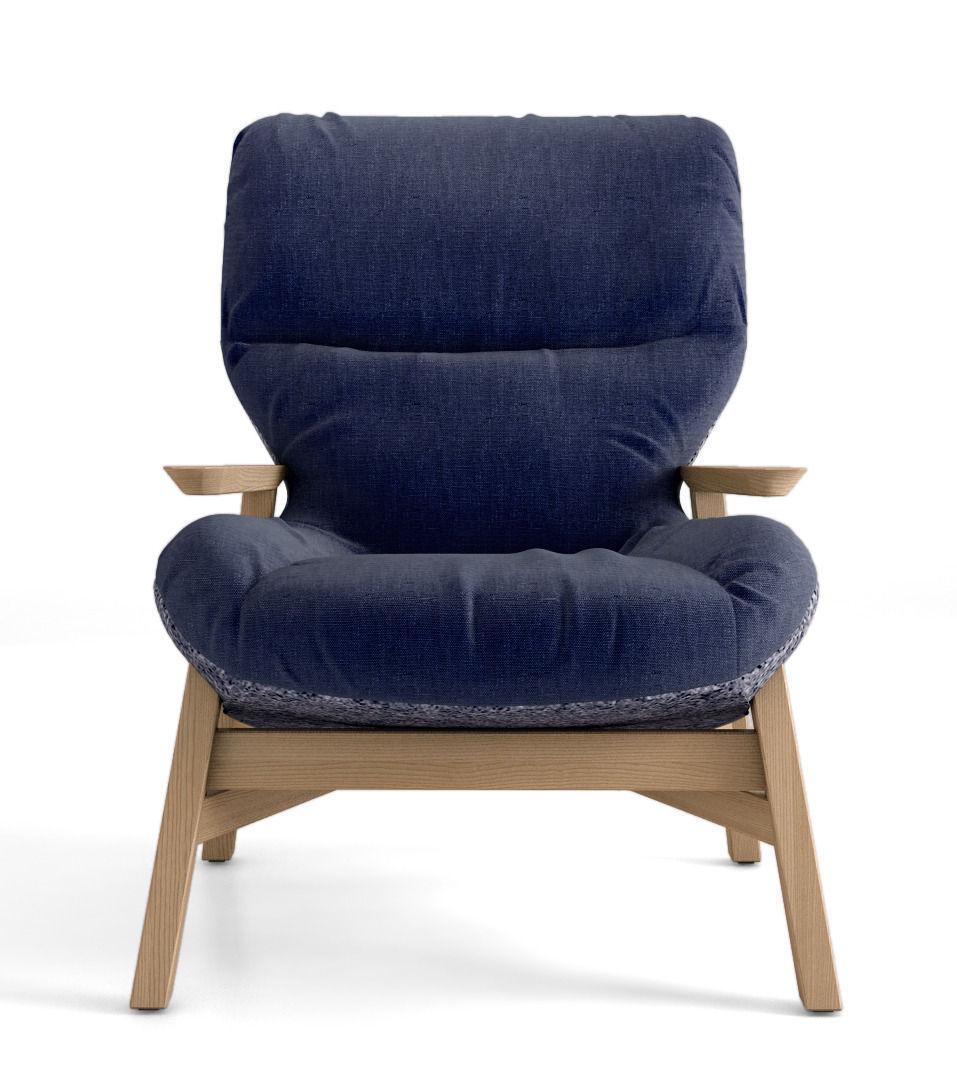 Jardan Sweeney Armchair 3d Model Max Obj Cgtrader Com