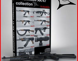 3D AK-47 collection