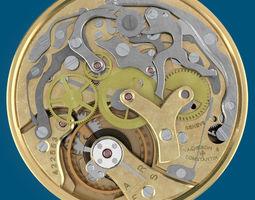 3d model watch movement