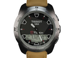 3D Tissot T-Touch Leather