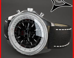 breitling 6 75 leather strap 3d