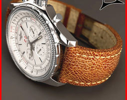 breitling 6 75 croco leather 3d model
