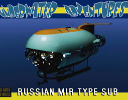 MIR Type russian sub 3D