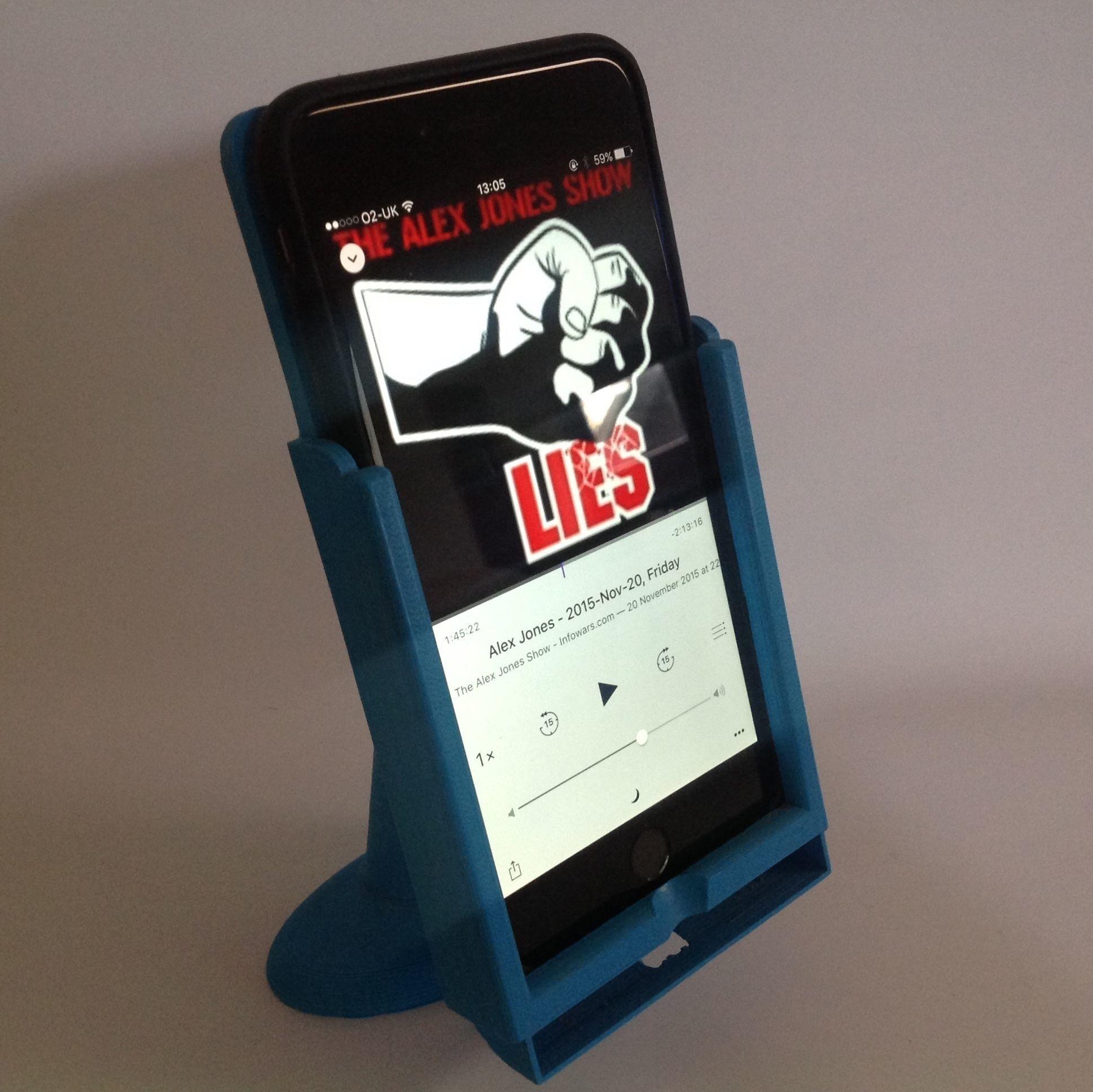 3D Printable Model IPhone 6 Plus Dual-Mode Desktop