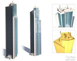 Skyscrapper 12 High 3D model