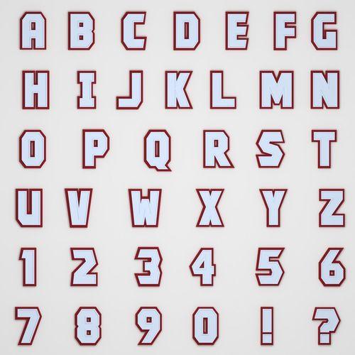 Alphabet - Low Poly