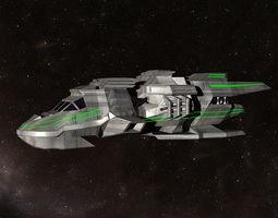 3d rescue spacecraft