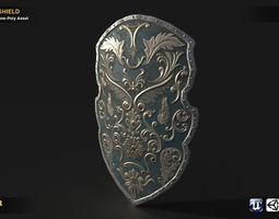 3D model High Detailed Shield