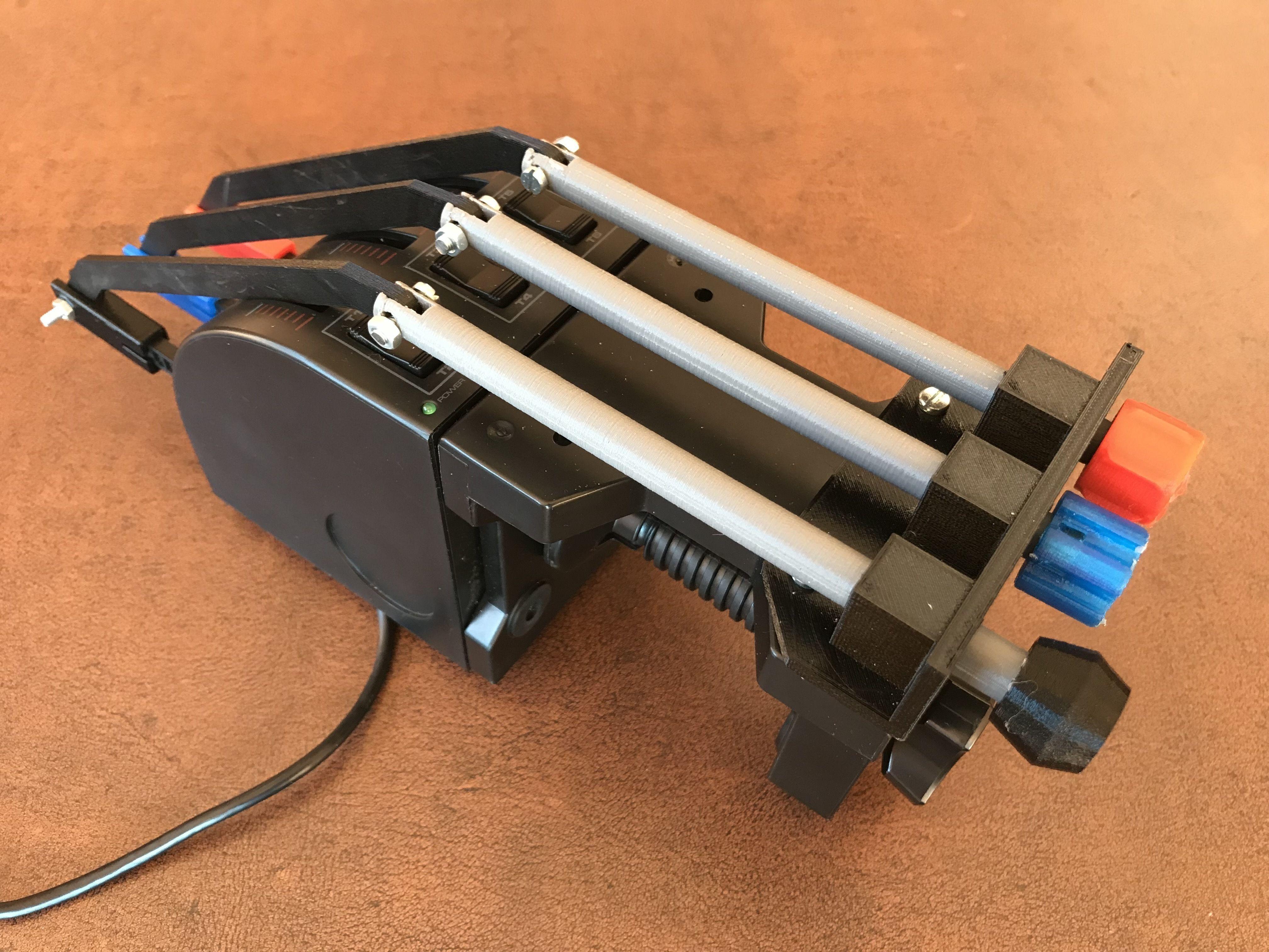 Logitech Throttle conversion