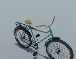 vehicle 3D Bicycle