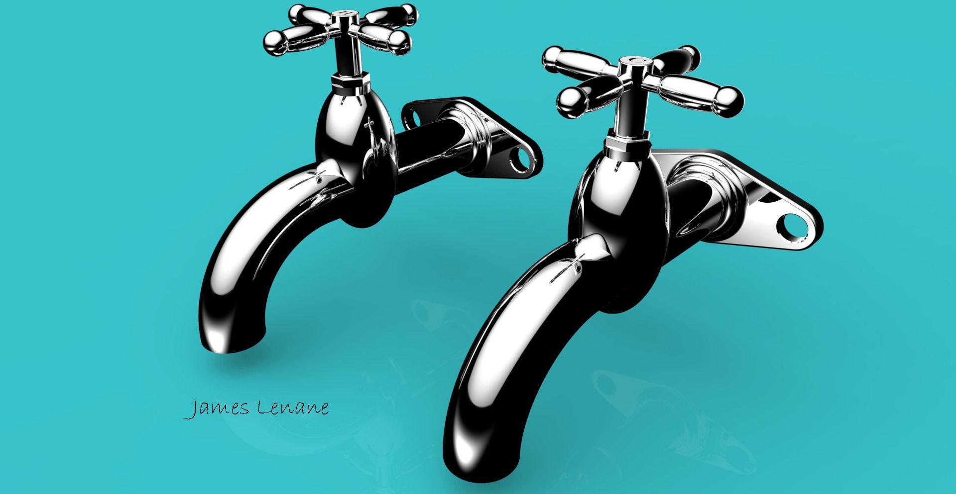 Water tap 3d Model Free download