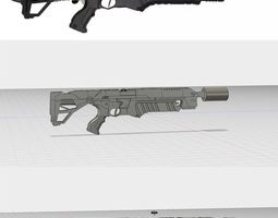 The Boring Company Flamethrower STL 3D print model