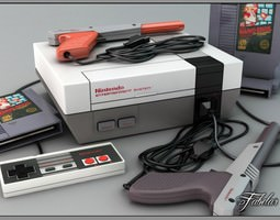NES luxury pack 3D