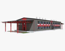 Administrative Building 3D