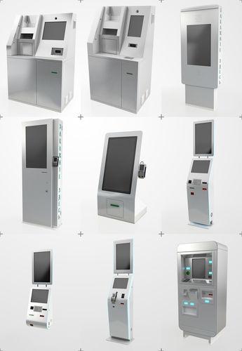 atm electonics terminals collection pack 3d model max obj mtl 3ds fbx dxf 1