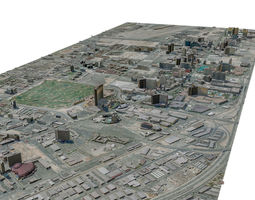 USA City Las Vegas 3D model