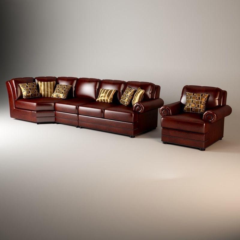 Thomasville Ashby Sofa Model Cgtrader