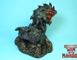 3D printable model Ravager Worm-War Of The Ravaged