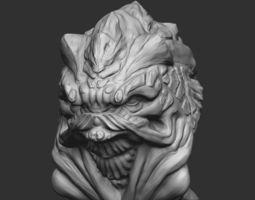 Grunt from Mass Effect 3D print model