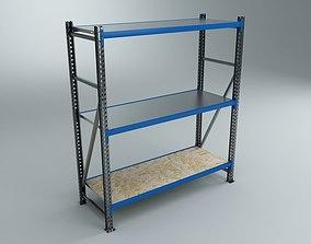 Blue Shelves 3D