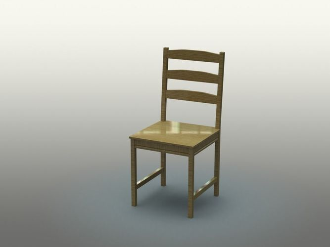 chair 3d model sldprt sldasm slddrw 1