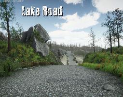 Lake Road 3D model
