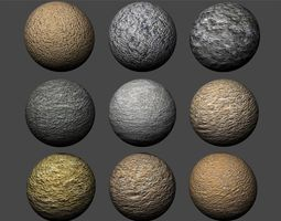 3D Stucco Textures Pack 3