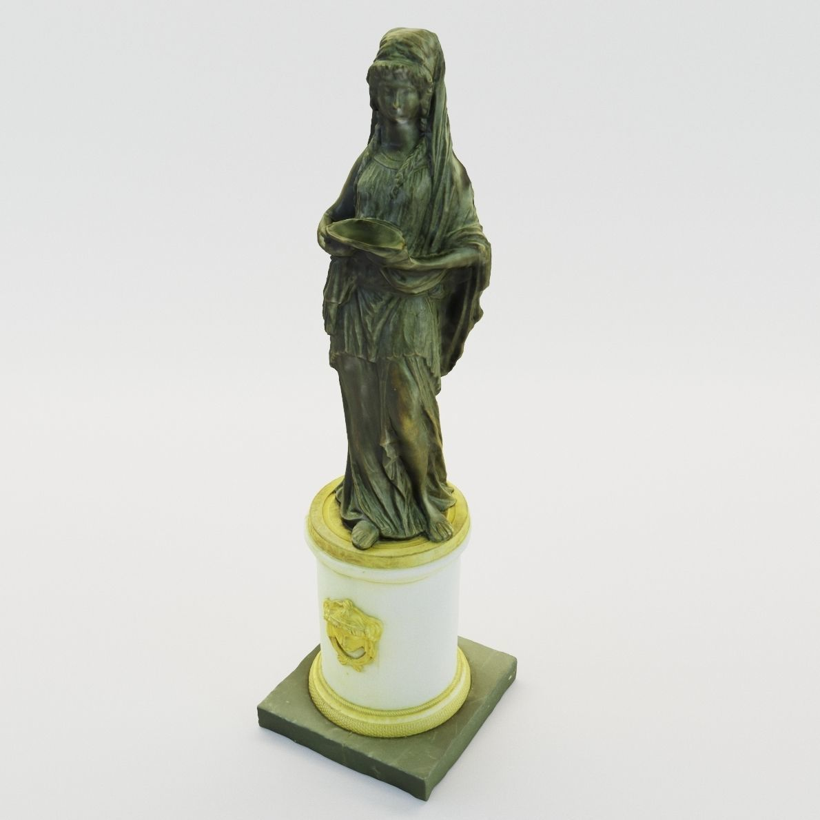 Classical sculpture of woman - France 1780