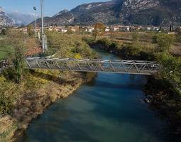 Pedestrian bridge model architecture