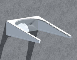 Wall bracket - store 3D printable model
