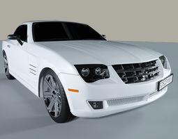 3D model Sport Car White