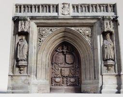 3D model Photogrammetry Cathedral Main Door