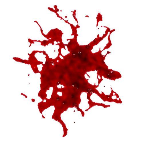 blood stain free 3d model max obj mtl fbx stl 1