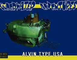 3D Alvin type sub