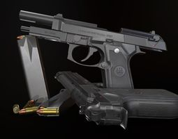 3D model Beretta 92 FS