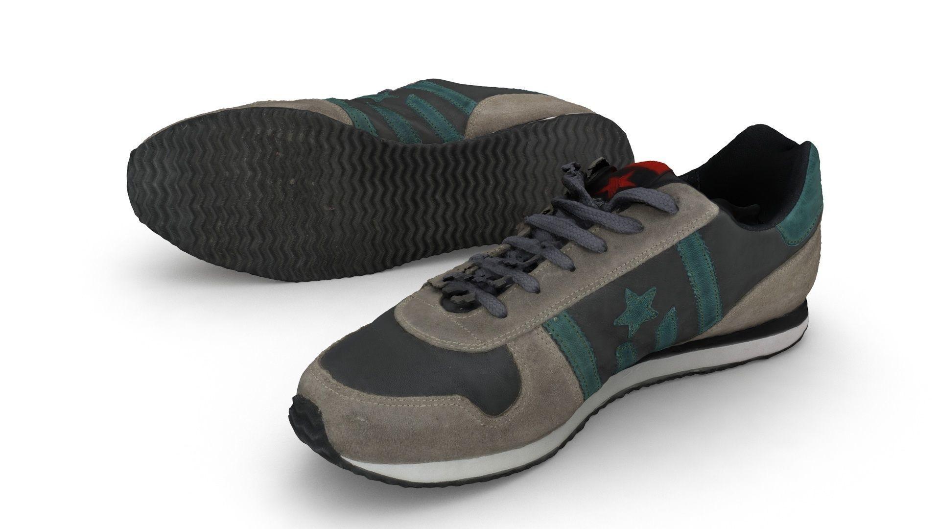 Scanned Sneaker