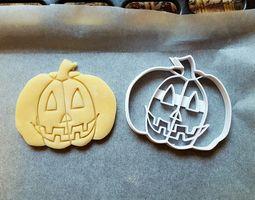 3D printable model Pumpkin cookie cutter version 1