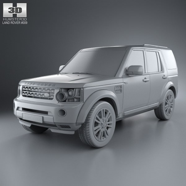Used Land Rover Discovery 4 Suv For Sale: Land Rover Discovery 4 LR4 2012 3D Model MAX OBJ 3DS FBX