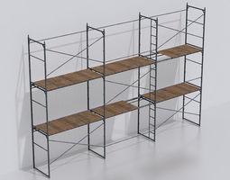 Scaffold set 3D model