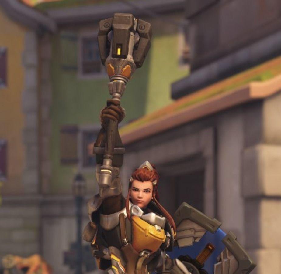 Brigitte Weapon Overwatch