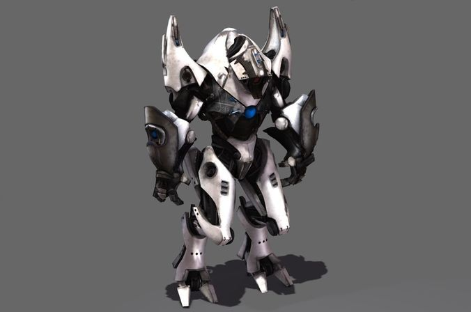 Mech Warrior Robot | 3D model