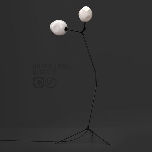 branching floor lamp by lindsey adelman milk black 3d model max obj mtl fbx 1