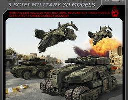 SF Military Pack 01 3D