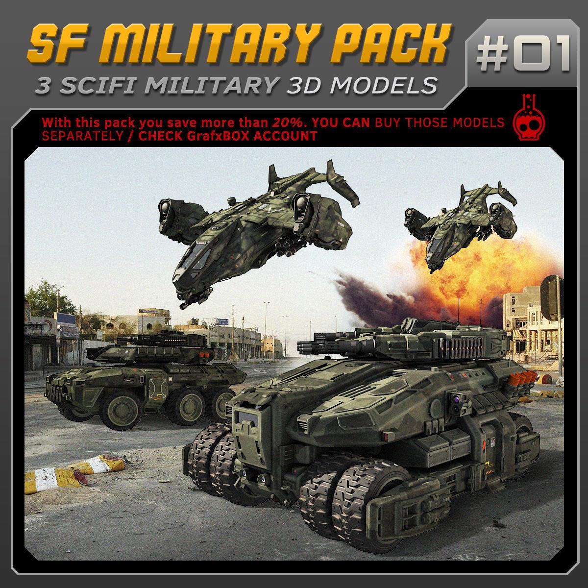 SF Military Pack 01