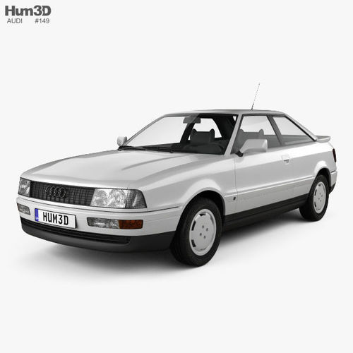Audi Coupe 8b 1988 3d Model Cgtrader