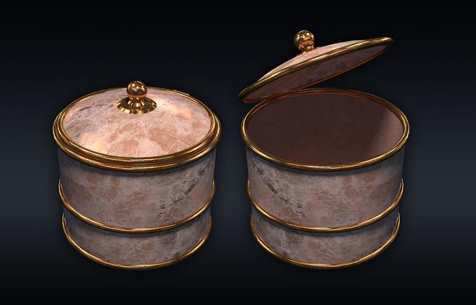 chest 04 3d model max obj mtl 3ds fbx 1